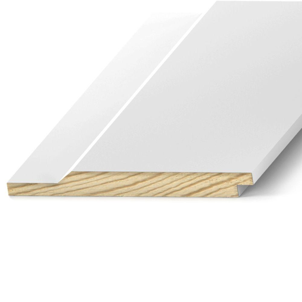 Pattern Stock Bevel Channel Primed Treated Nominal 1 In X 10 In X 20 Ft Actual 0 75 In X 9 25 In X 240 In Ptp77320 The Home Depot