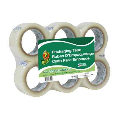 1.88 in. x 109 yd. Standard Packaging Tape, Clear (6-Pack)