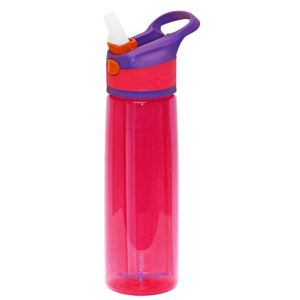 24 oz. Purple and Pink Plastic Tritan Hydration Bottle (6-Pack)