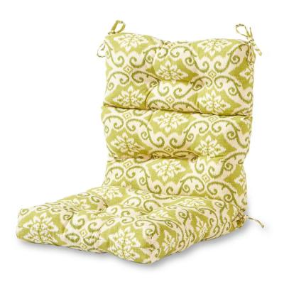 Shoreham Ikat Outdoor High Back Dining Chair Cushion