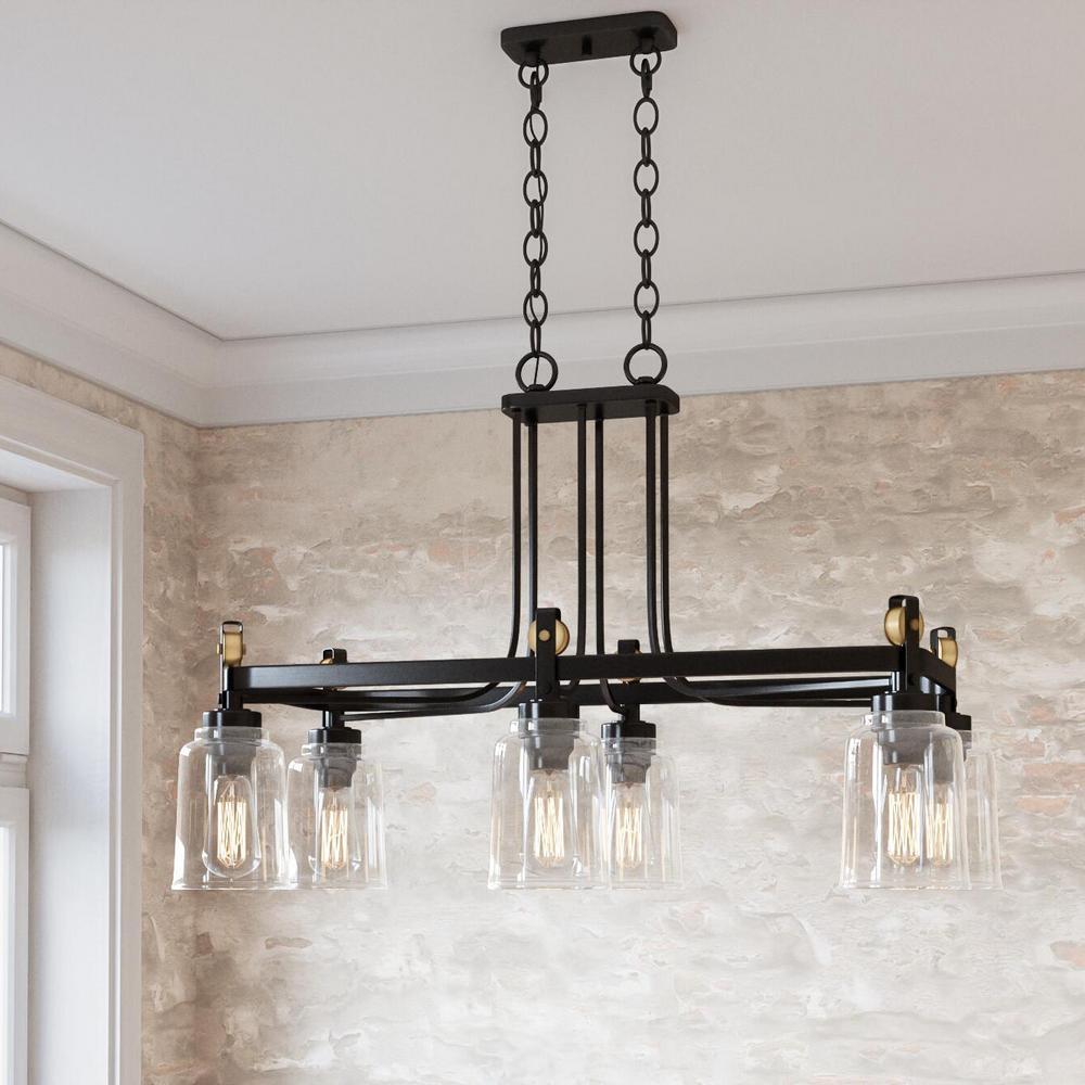 Home Decorators Collection Knollwood 6-Light Antique ...