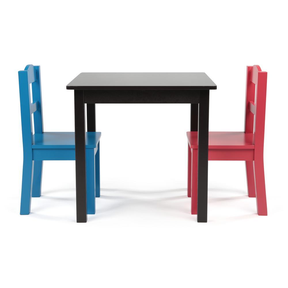 Prime Tot Tutors Pierce 3 Piece Espresso Primary Kids Square Table Andrewgaddart Wooden Chair Designs For Living Room Andrewgaddartcom