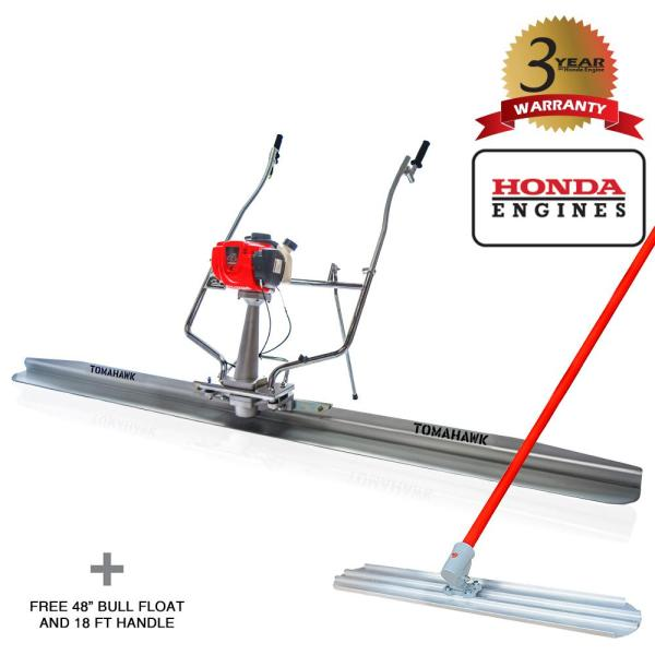 14 ft. Blade and 1.6 HP Honda Gas Vibratory Concrete Power Screed