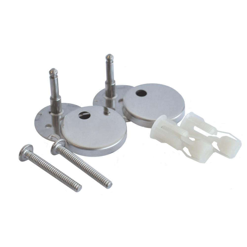 Icera Toilet Seat Bolt Assembly Kit With Polished Chrome