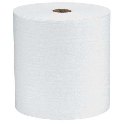 7.87 in. x 400 ft. Non-Perforated Hard-Roll Paper Towels (12 Roll)