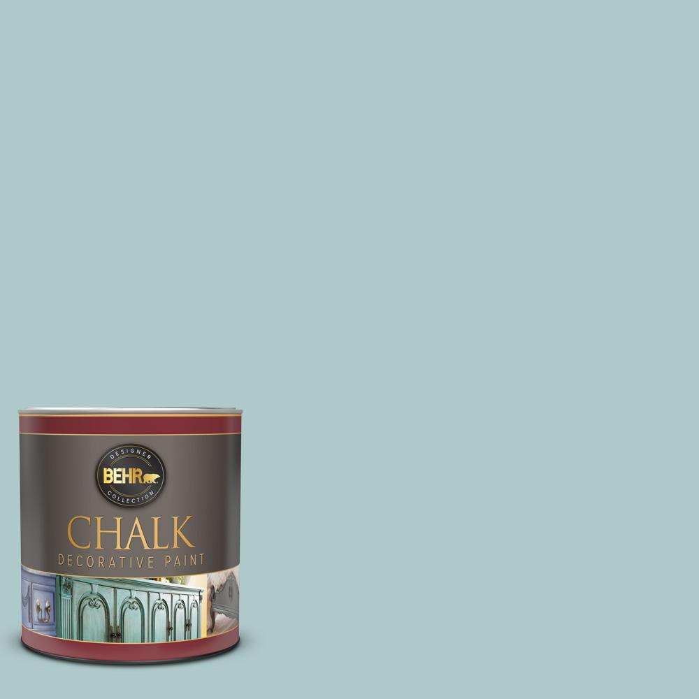 BEHR 1 qt. #BCP27 Adored Blue Interior Chalk Decorative Paint