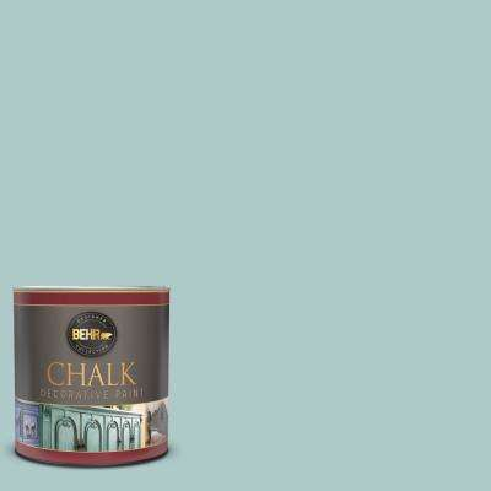 1 qt. #BCP27 Adored Blue Interior Chalk Decorative Paint