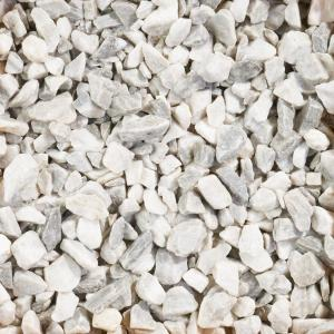 0.5 cu. ft. White Marble Chips