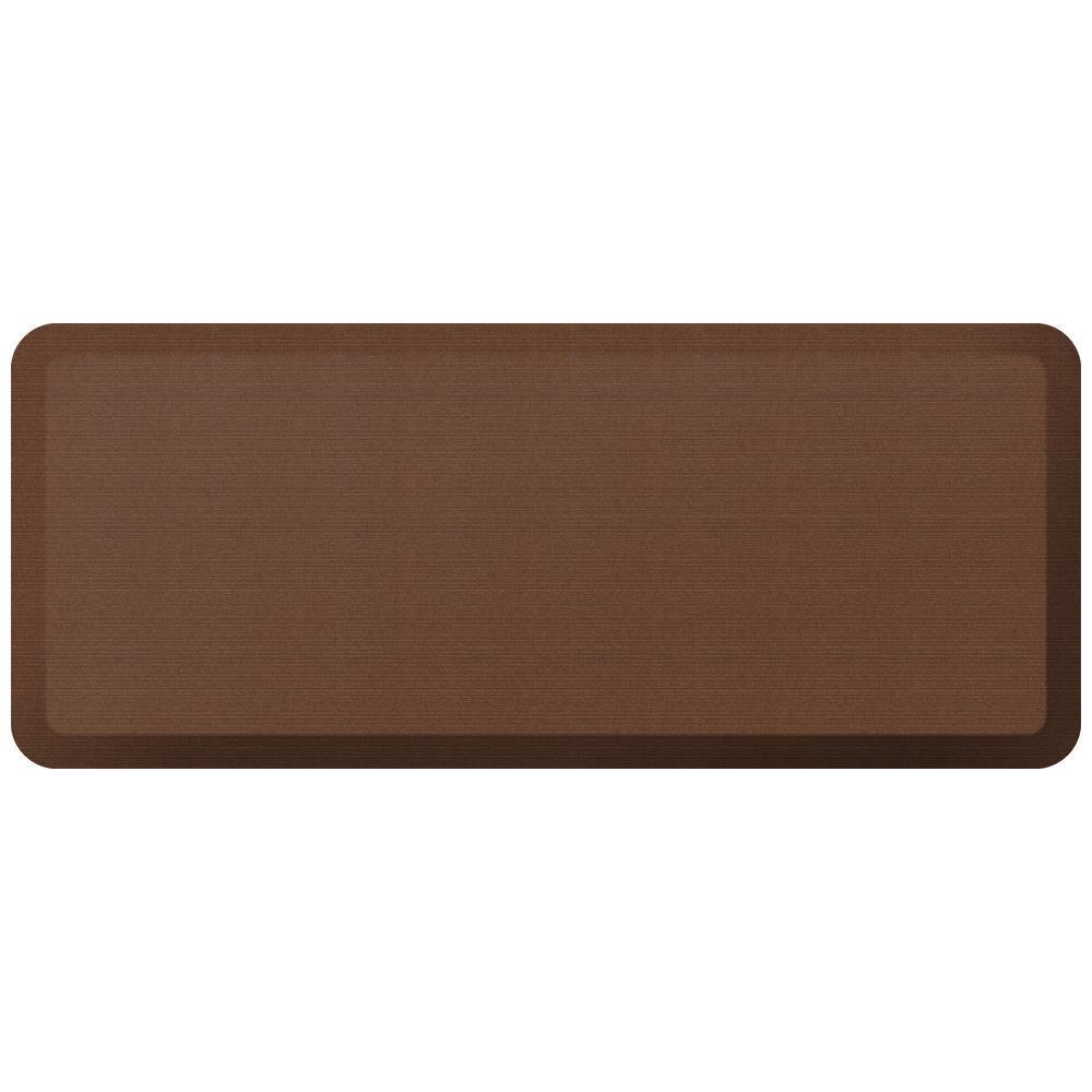 Designer Grasscloth Java 20 in. x 48 in. Anti-Fatigue Comfort Kitchen Mat