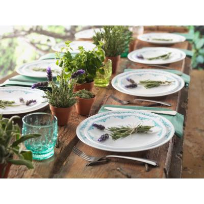 Classic 16-Piece Garden Lace Dinnerware Set