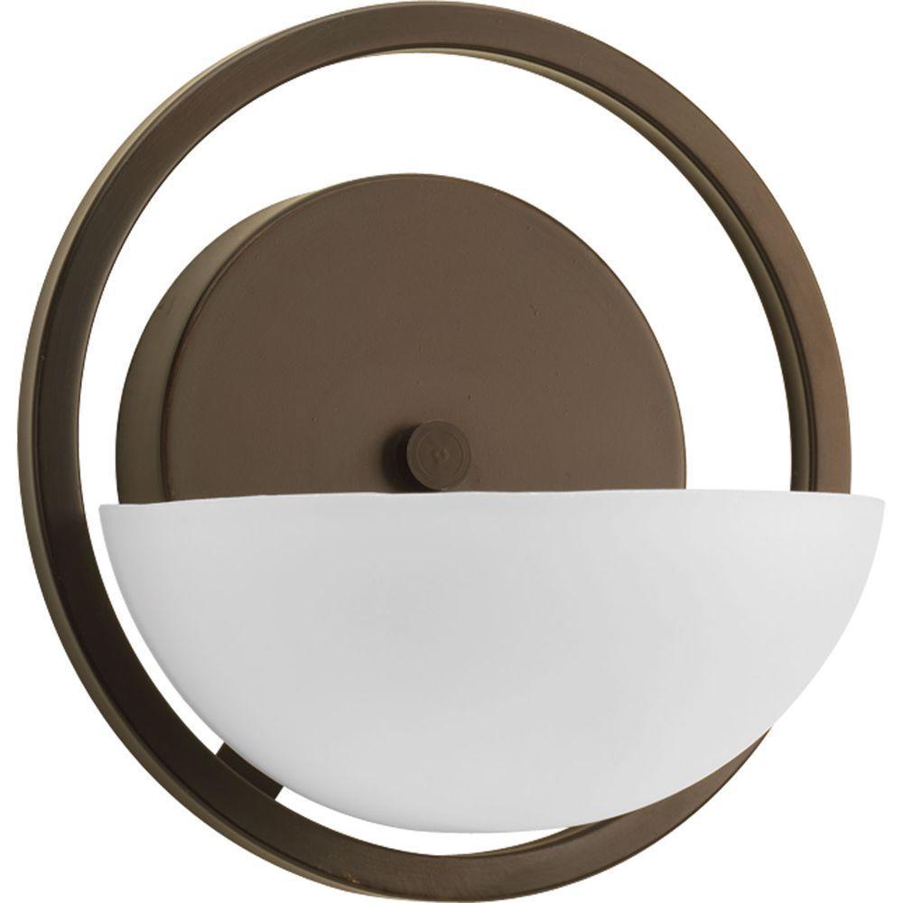 Engage Collection 1-Light Antique Bronze Bath Light