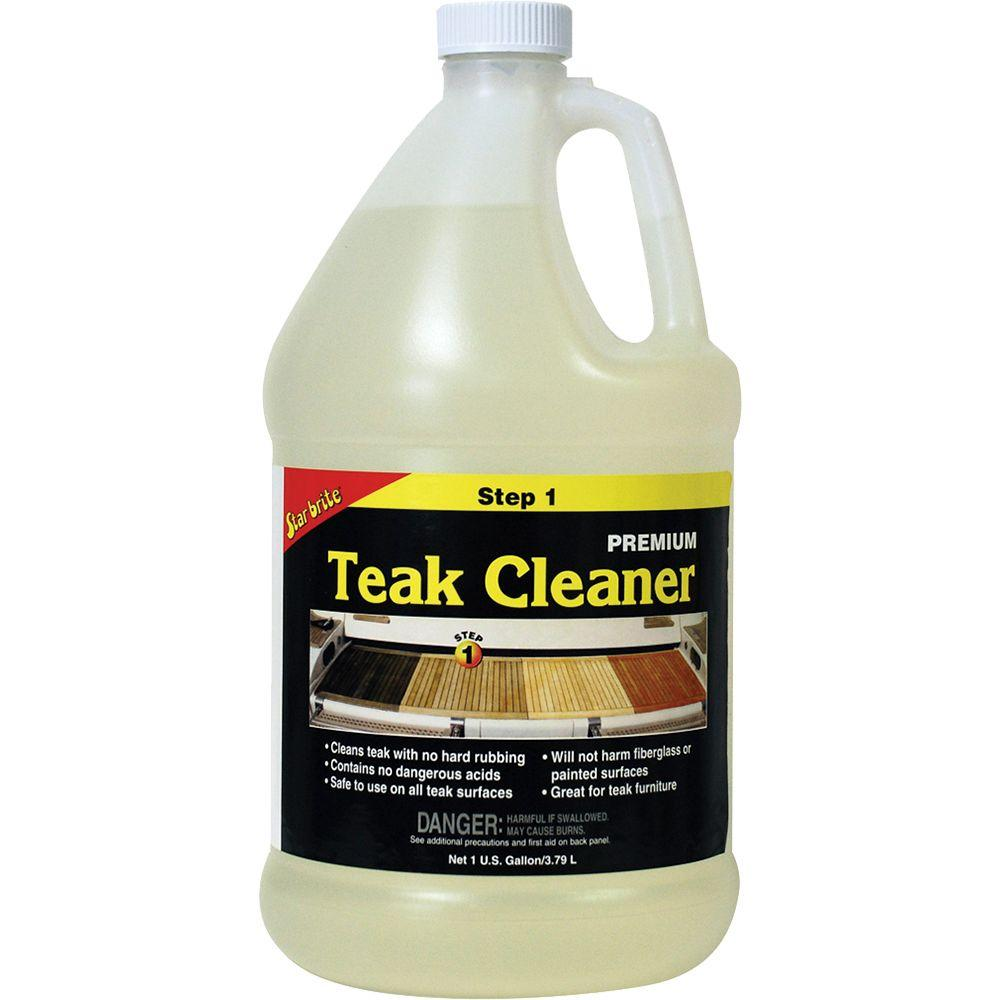 Star Brite 128 Fl Oz Teak Cleaner 081400n The Home Depot