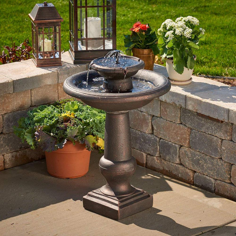 Smart Solar Chatsworth Antique Bronze
