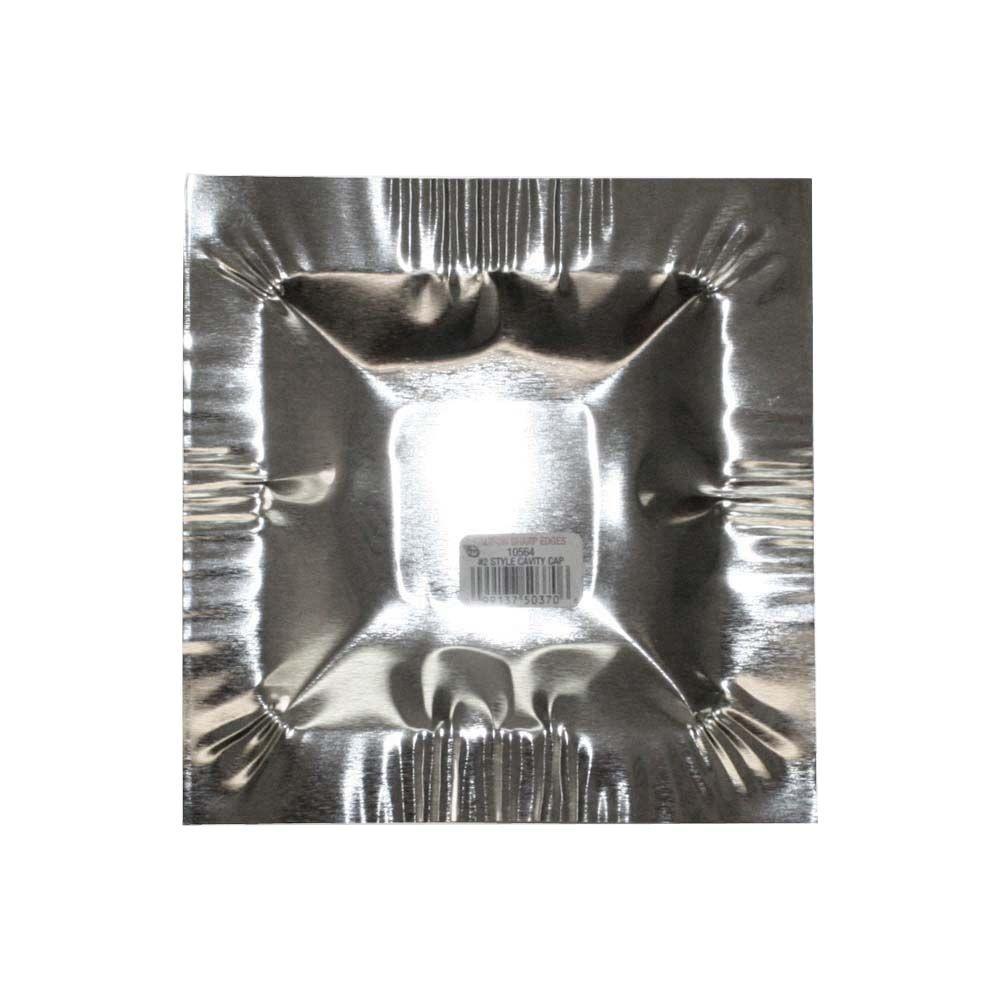 Galvanized Steel #2 Cavity Cap