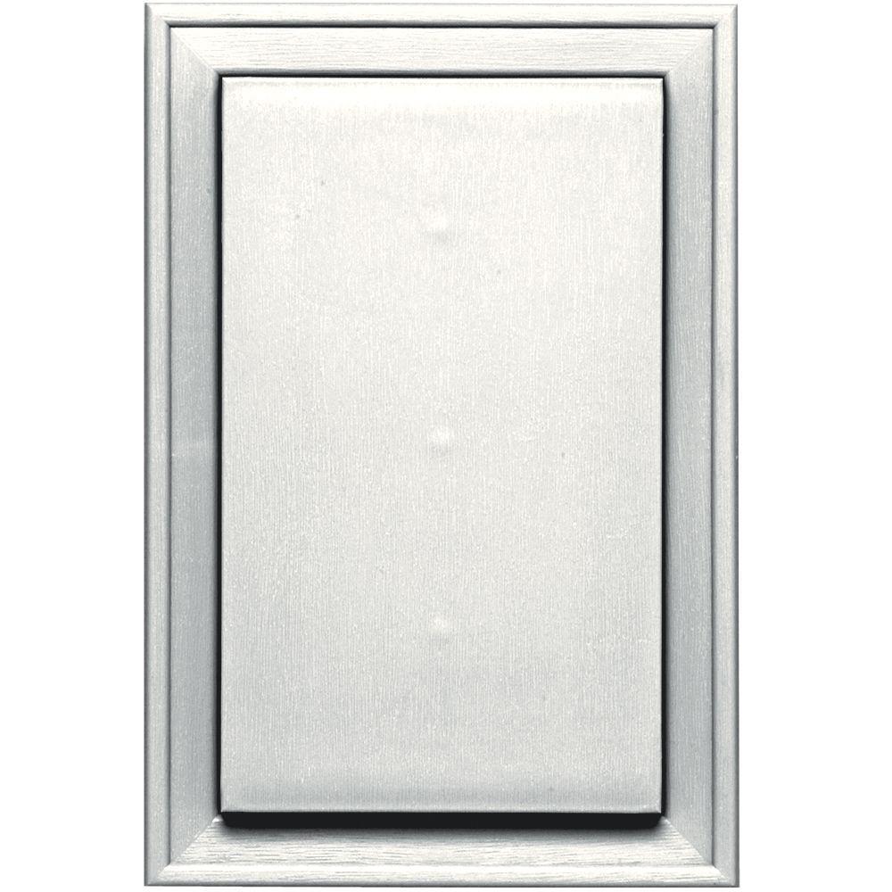 Builders Edge 8 25 In X 12 0625 In 123 White Jumbo