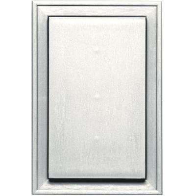 8.25 in. x 12.0625 in. #123 White Jumbo Universal Mounting Block
