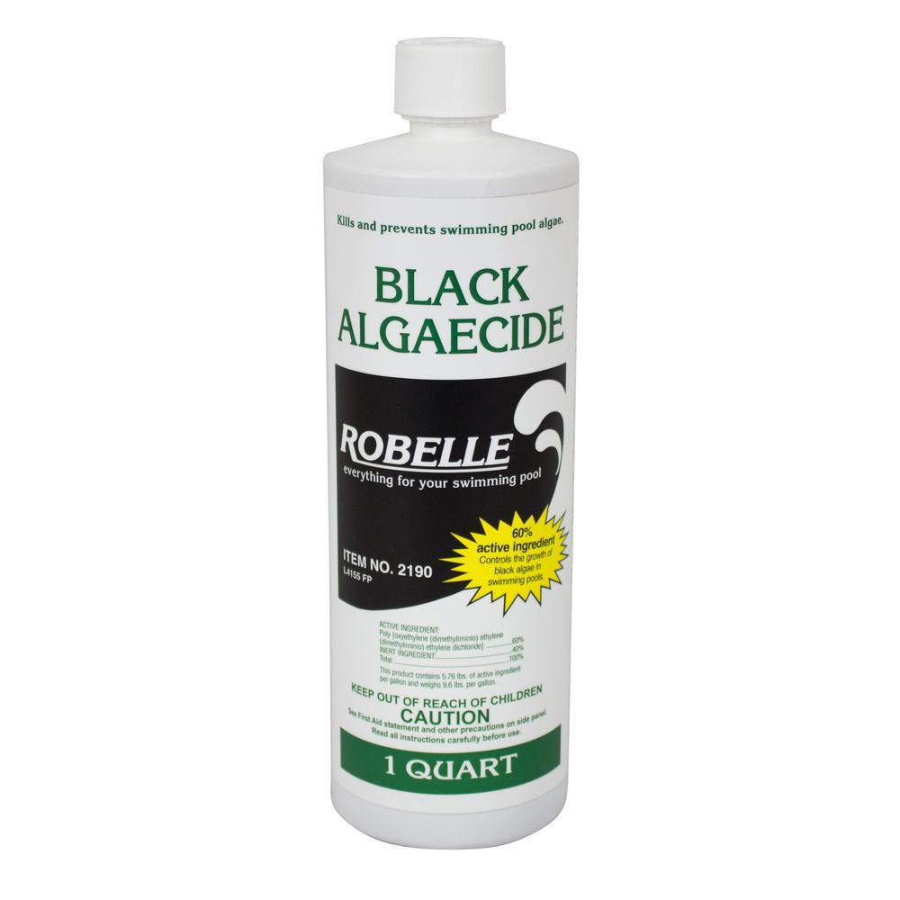 Robelle Black Algaecide for Swimming Pools