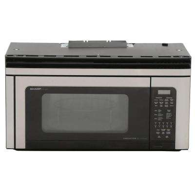 1.1 cu. ft. 850-Watt Over the Range Convection Microwave Oven in Stainless