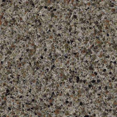 3 in. x 5 in. Laminate Countertop Sample in Ink Vesta with Premium Textured Gloss Finish