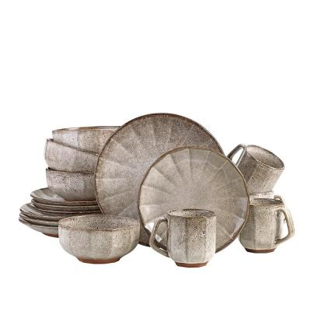 Champignon 16 Piece Dinnerware Set
