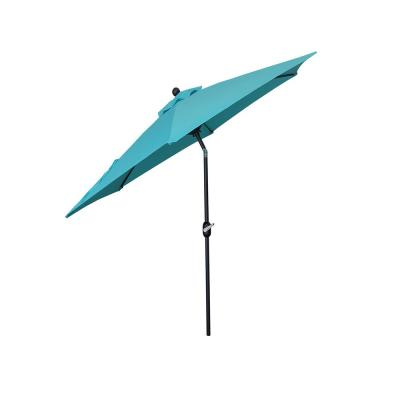 9 ft. Outdoor Market Patio Umbrella with Crank/Tilt in Aruba