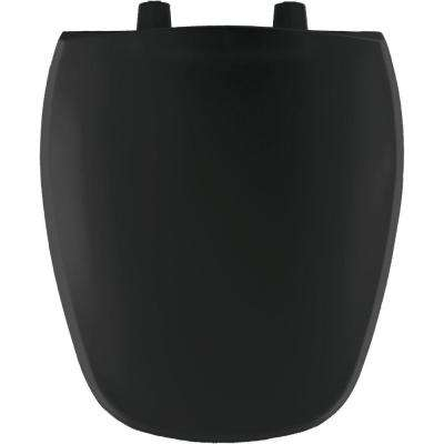Round Closed Front Toilet Seat in Onyx