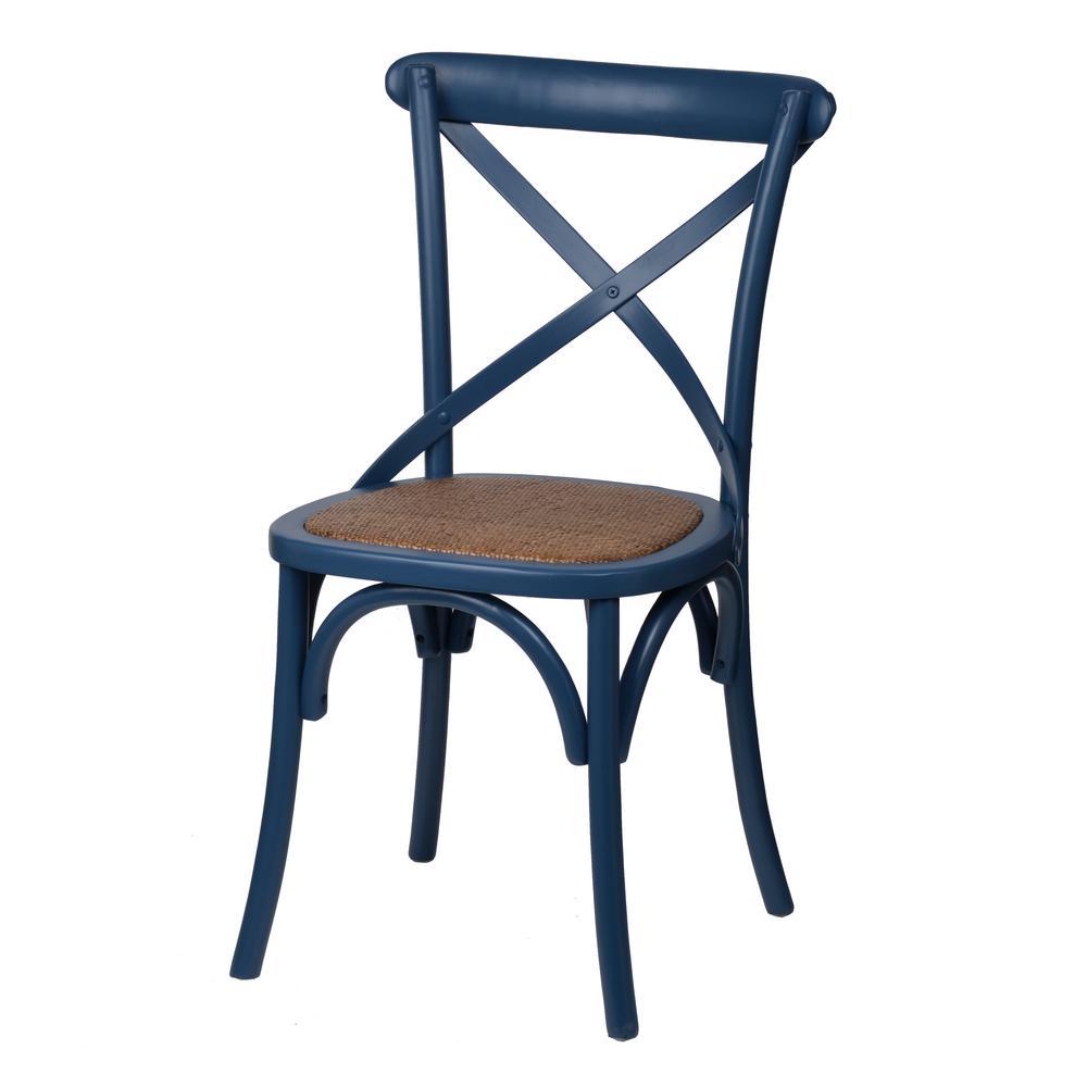 Ebury Dark Brown Birch Wood Chair