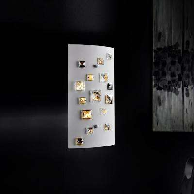 Shadow 2-Light White Sconce