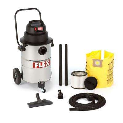 VC12 12 Gal. 6.0-Peak HP Stainless Steel Wet Dry Vac for use with Giraffe GE 5 Drywall Sander