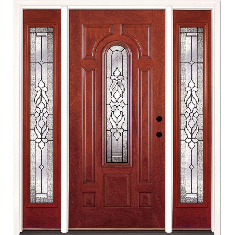 Craftsman front doors exterior doors the home depot for Front door replacement home depot