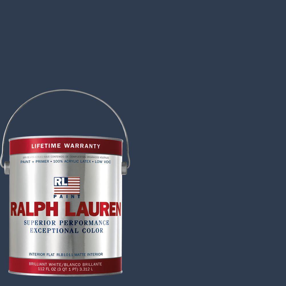 Ralph Lauren 1-gal. Club Navy Flat Interior Paint