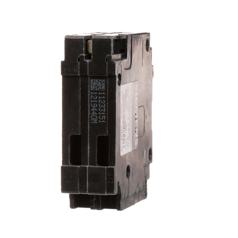 Siemens 15 Amp Tandem Single Pole Type QT Circuit Breaker
