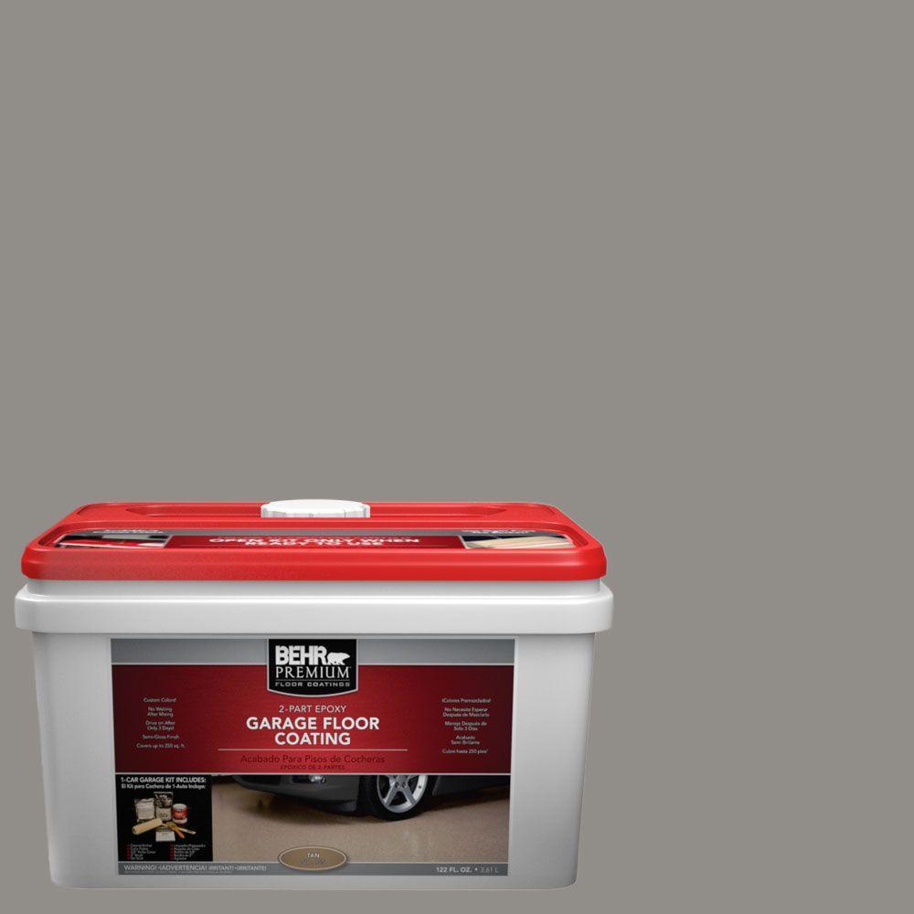 BEHR Premium 1-gal. #PFC-69 Fresh Cement 2-Part Epoxy Garage Floor Coating Kit