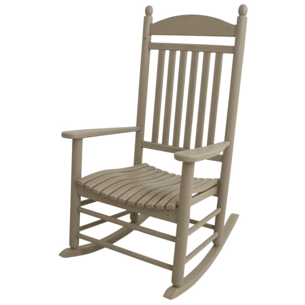 Merveilleux POLYWOOD Jefferson Sand Patio Rocker