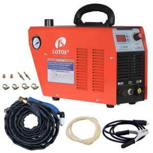 Lotos 35 Amp Compact Inverter Plasma Cutter for Metal, 110V/120V Standard Wall Plug, 2/5 inch Clean Cut by Lotos