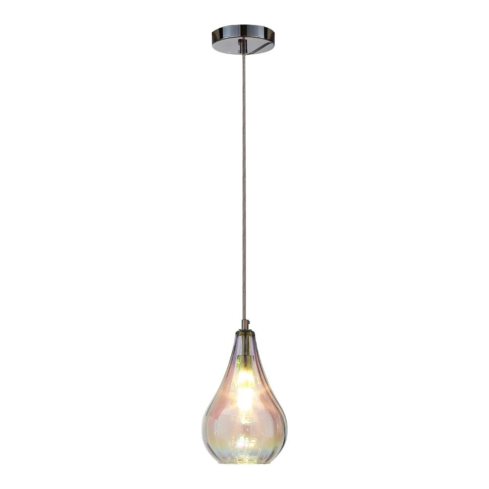 BOSE 1-LIGHT COLORFUL GLASS PENDANT