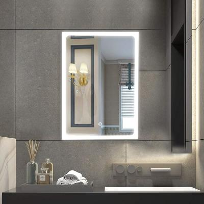 32 in. W x 24 in. L LED Wall Mounted Energy-Saving Mirror in White