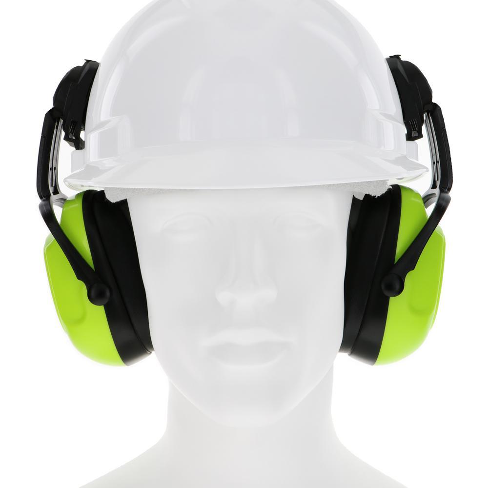 MAXIMUMSAFETY Maximum Safety Cap Mount Ear Muffs, Yellow