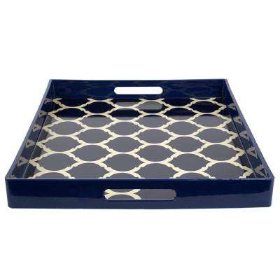 Lattice Plastic Serving Tray