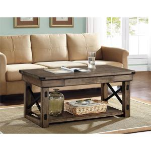 Altra Furniture Wildwood Rustic Gray Coffee Table by Altra Furniture
