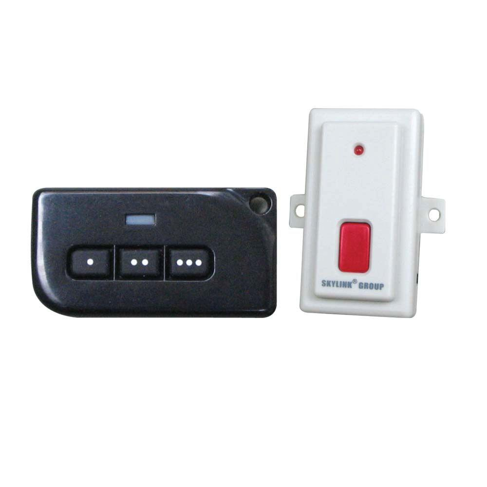 Skylink 3 button universal remote control kit gs 1 the home depot skylink 3 button universal remote control kit rubansaba