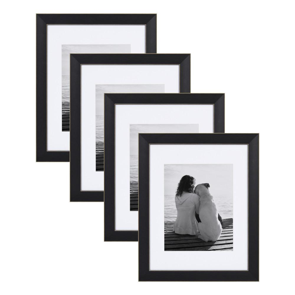Designovation Wyeth 11x14 Matted To 8x10 Black Picture Frame Set Of