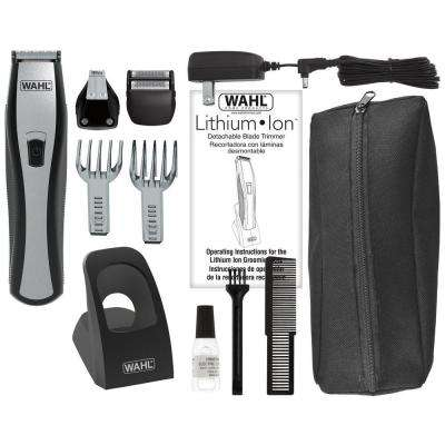 Lithium All-In-One Trimmer Black/Silver