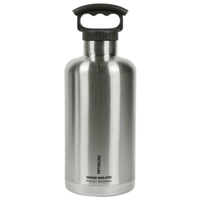 Vacuum-Insulated Tank Growler 64oz. Stainless Steel