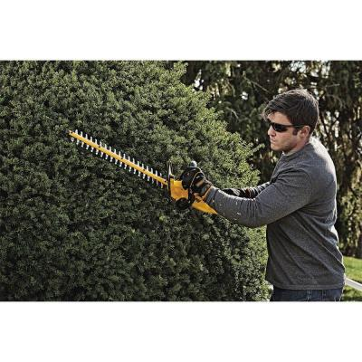 20-Volt MAX Lithium-Ion Cordless 22 in.  Hedge Trimmer w/ (1) 5.0Ah Battery and Charger