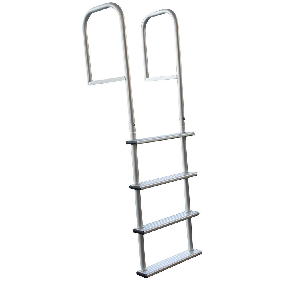 4-Step Removable Aluminum Dock Ladder