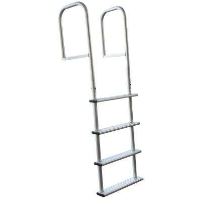 4-Step Removable Aluminum Dock Ladder