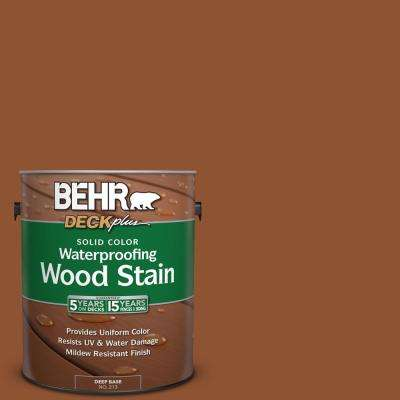 1 gal. #SC-122 Redwood Naturaltone Solid Color Waterproofing Exterior Wood Stain