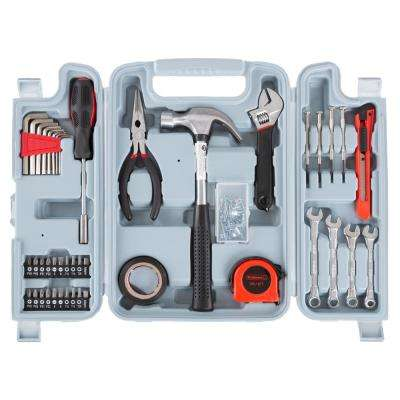 Steel Hand Tool Set (124-Piece)