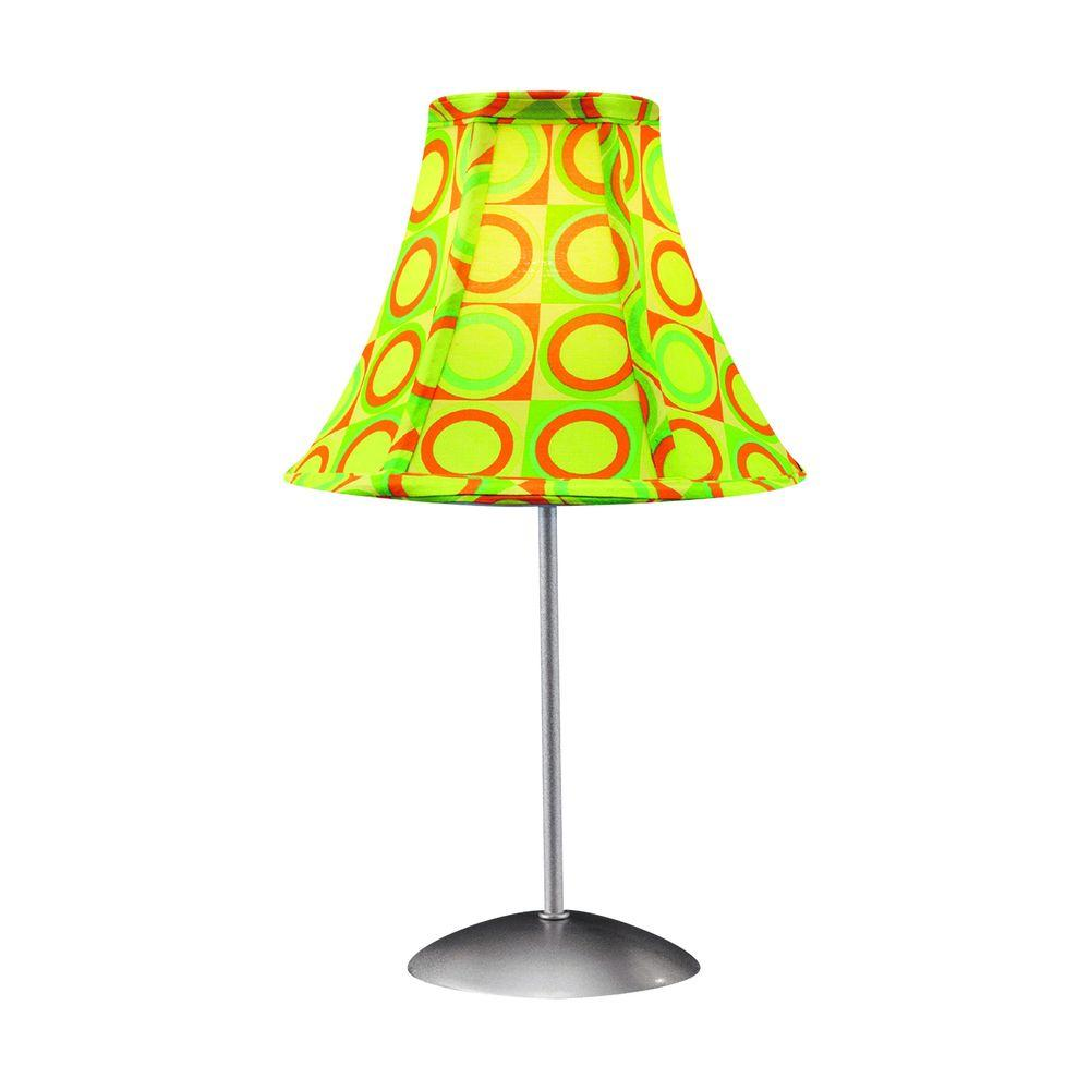 Lumisource 15.5 in. Green and Yellow Table Lamp